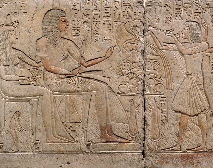 15 september 2019 | Museumcollege Egyptische reliëfdecoratie