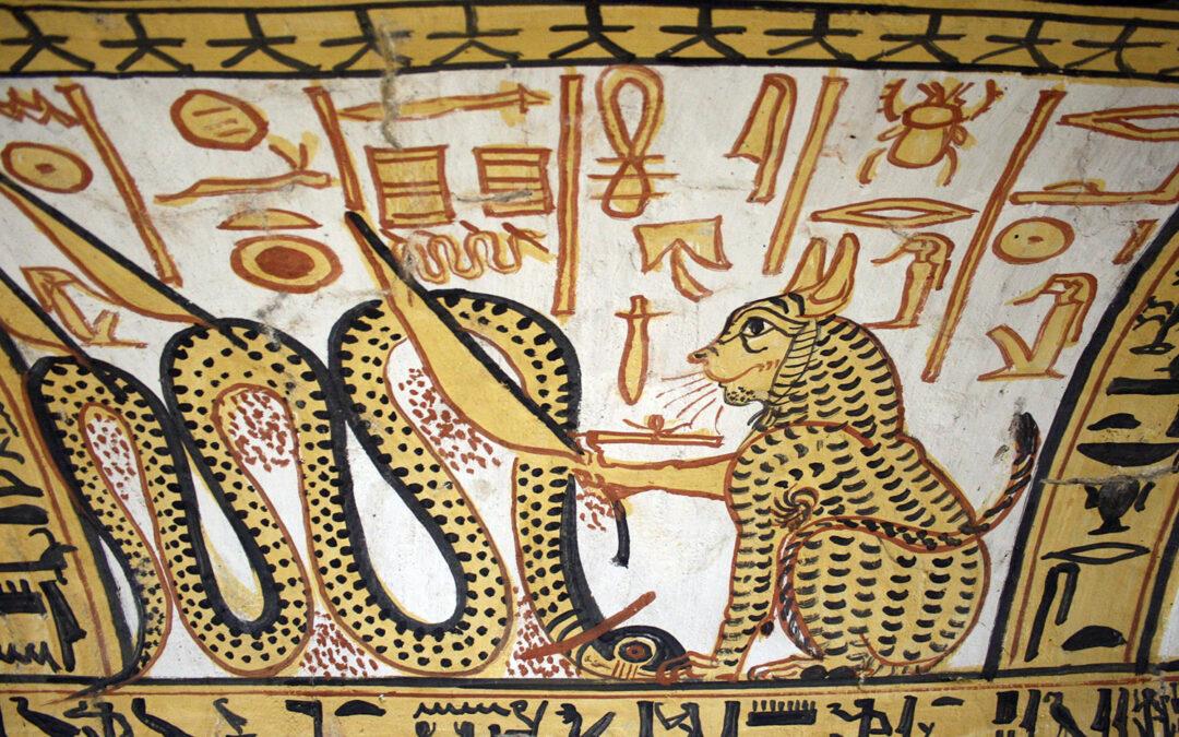 18 juli 2021 | Schilderen als een Egyptenaar