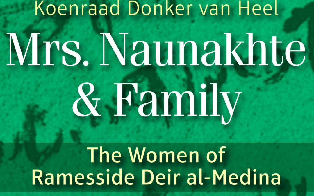22 juli 2021 | Een lach en een traan: over wet, recht en vrouwen in Deir el-Medina